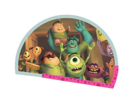 Monsters University image of characters