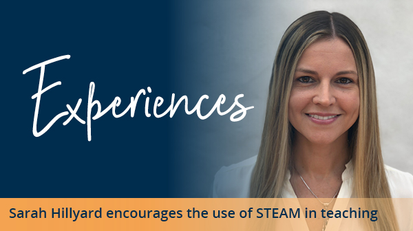 Experiences STEAM teaching with Sarah Hillyard image