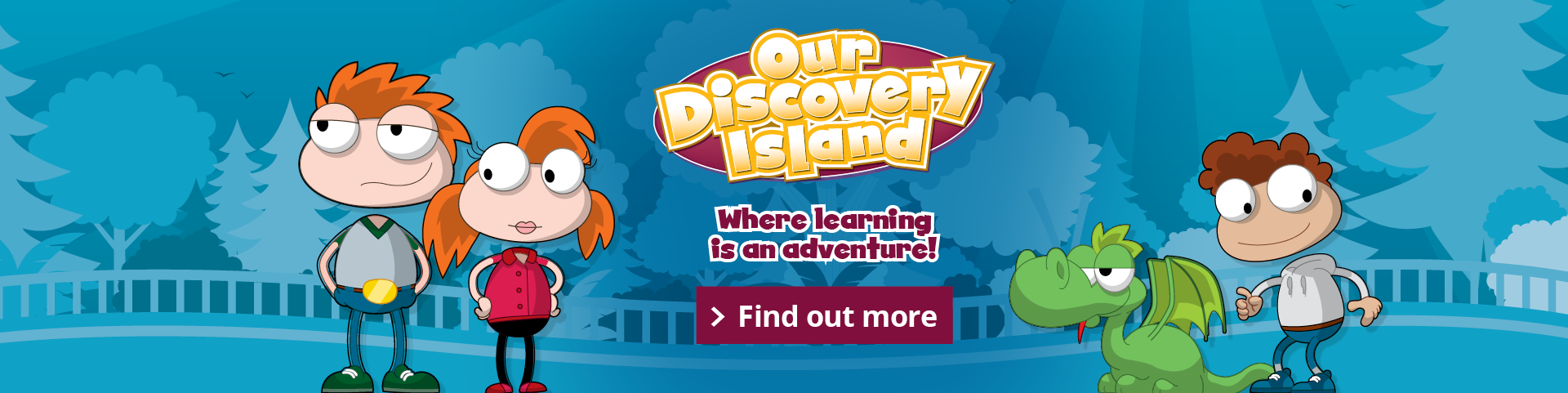our discovery island banner