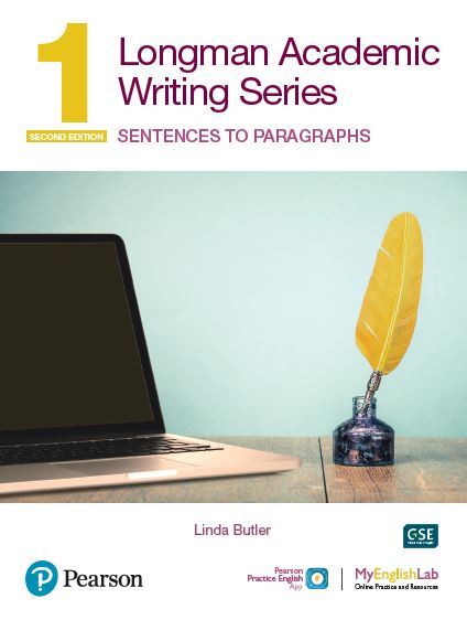 Longman Academic Writing level 1 book cover