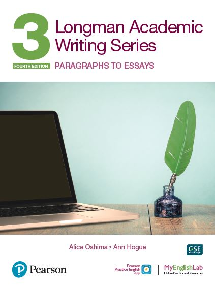 Longman Academic Writing level 3 book cover