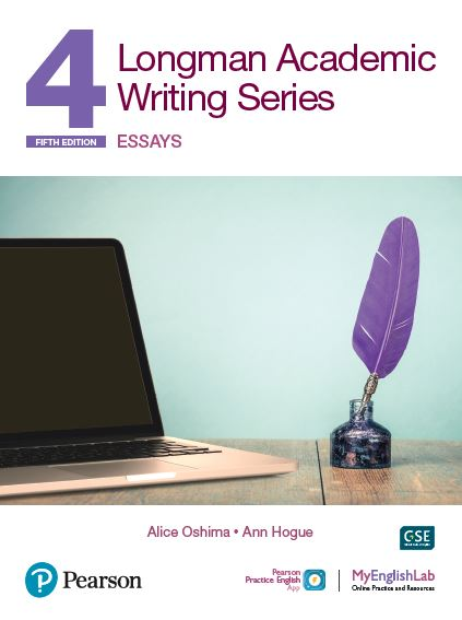 Longman Academic Writing level 4 book cover