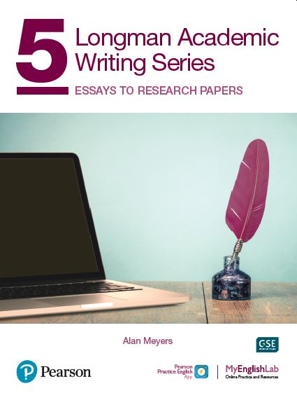 Longman Academic Writing level 5 book cover