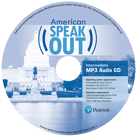 American Speakout Mp3 CD cover
