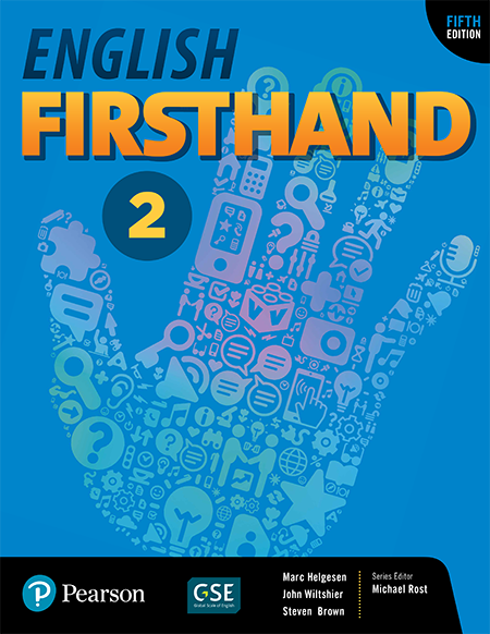 English Firsthand level 2 book cover