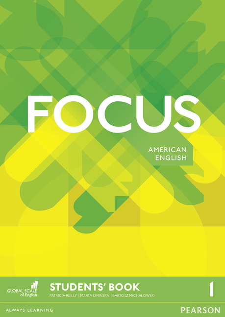 Focus American English level 1 book cover