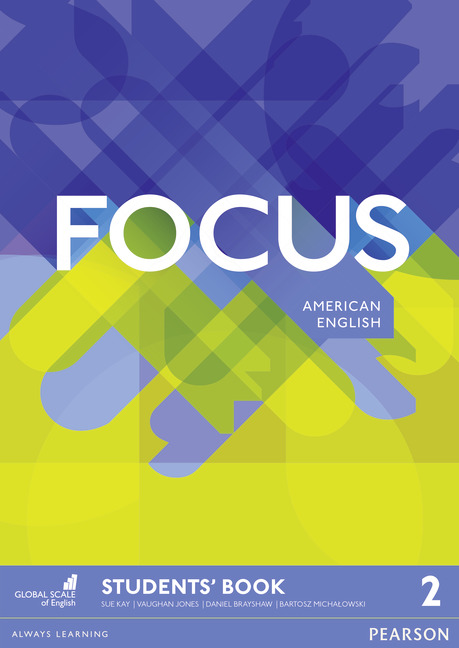 Focus American English level 2 book cover