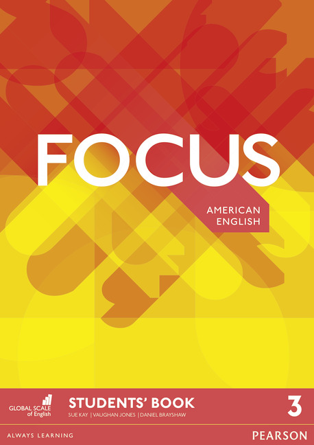 Focus American English level 3 book cover