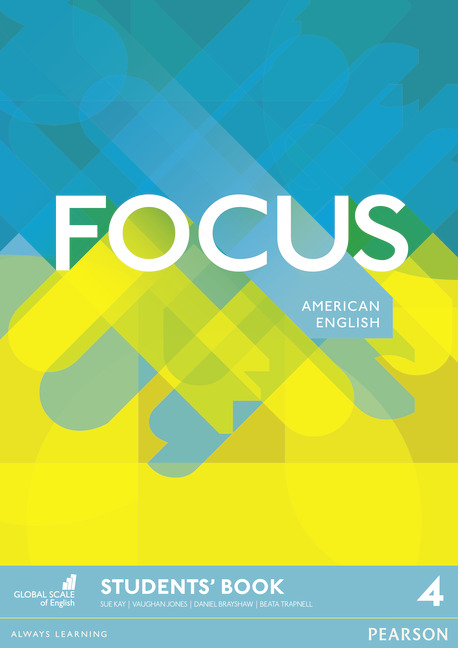Focus American English level 4 book cover