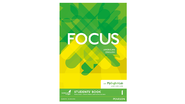 focus american english students book cover
