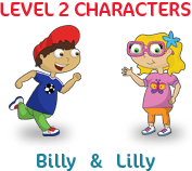 My Little Island level 2 characters