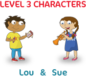 My Little Island level 3 characters