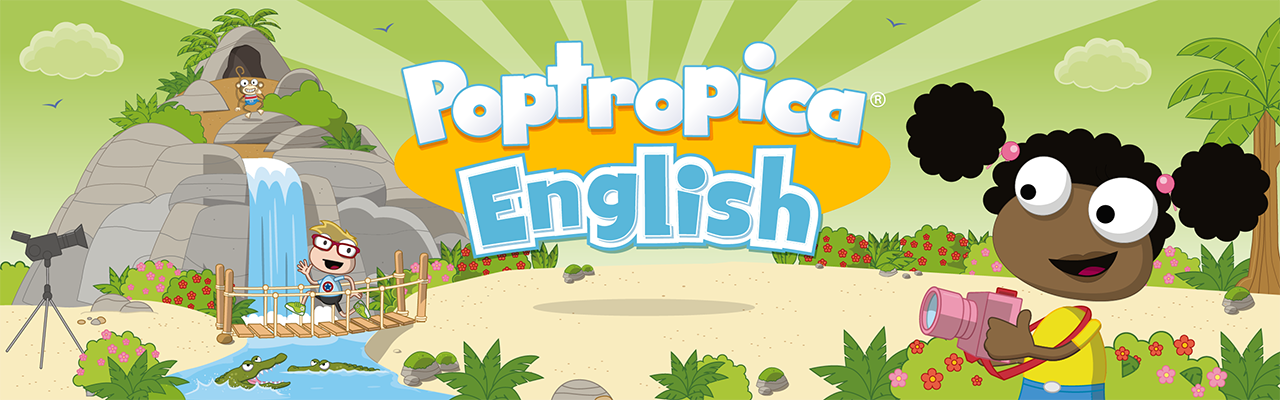 Poptropica American English banner