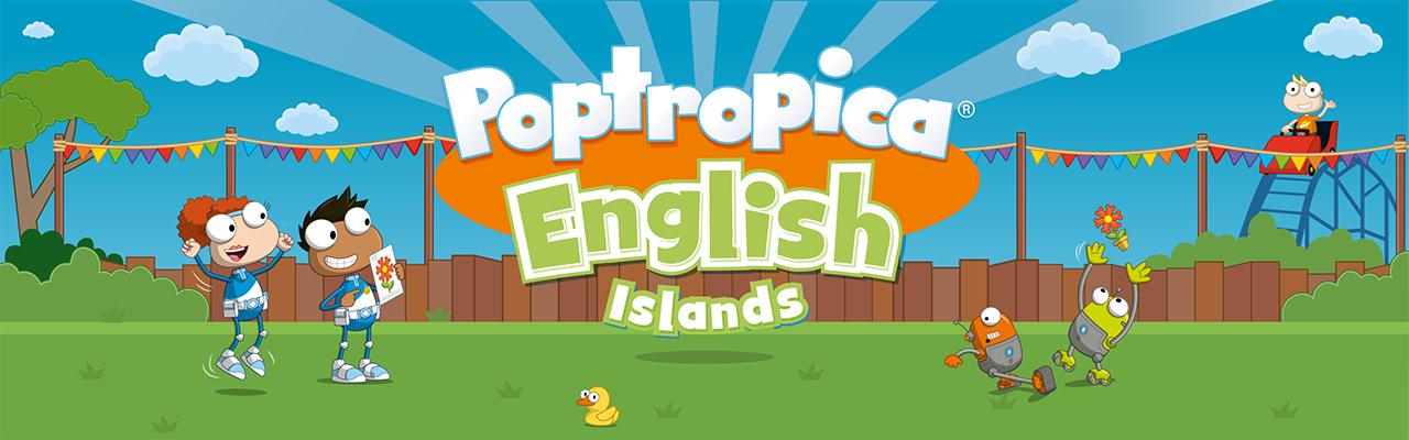 Poptropica English Islands banner image