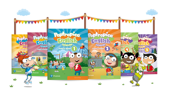 Poptropica Islands book covers