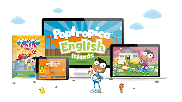 Poptropica Islands digital components