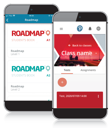 Roadmap Test Generator on mobile