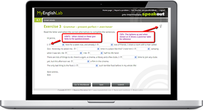 Learn English online with MyEnglishLab