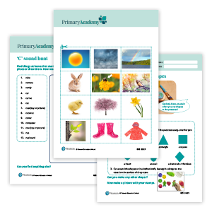 Primary Academy Learn at home packs image