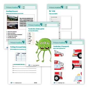Primary Academy Teacher worksheets image