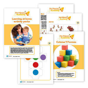 Pre-Primary Academies Home learning image