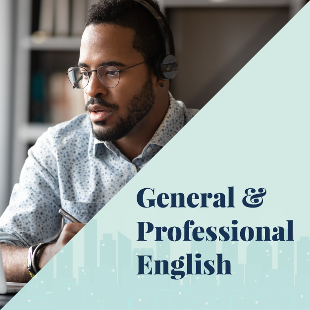 Back to School General and Professional English section