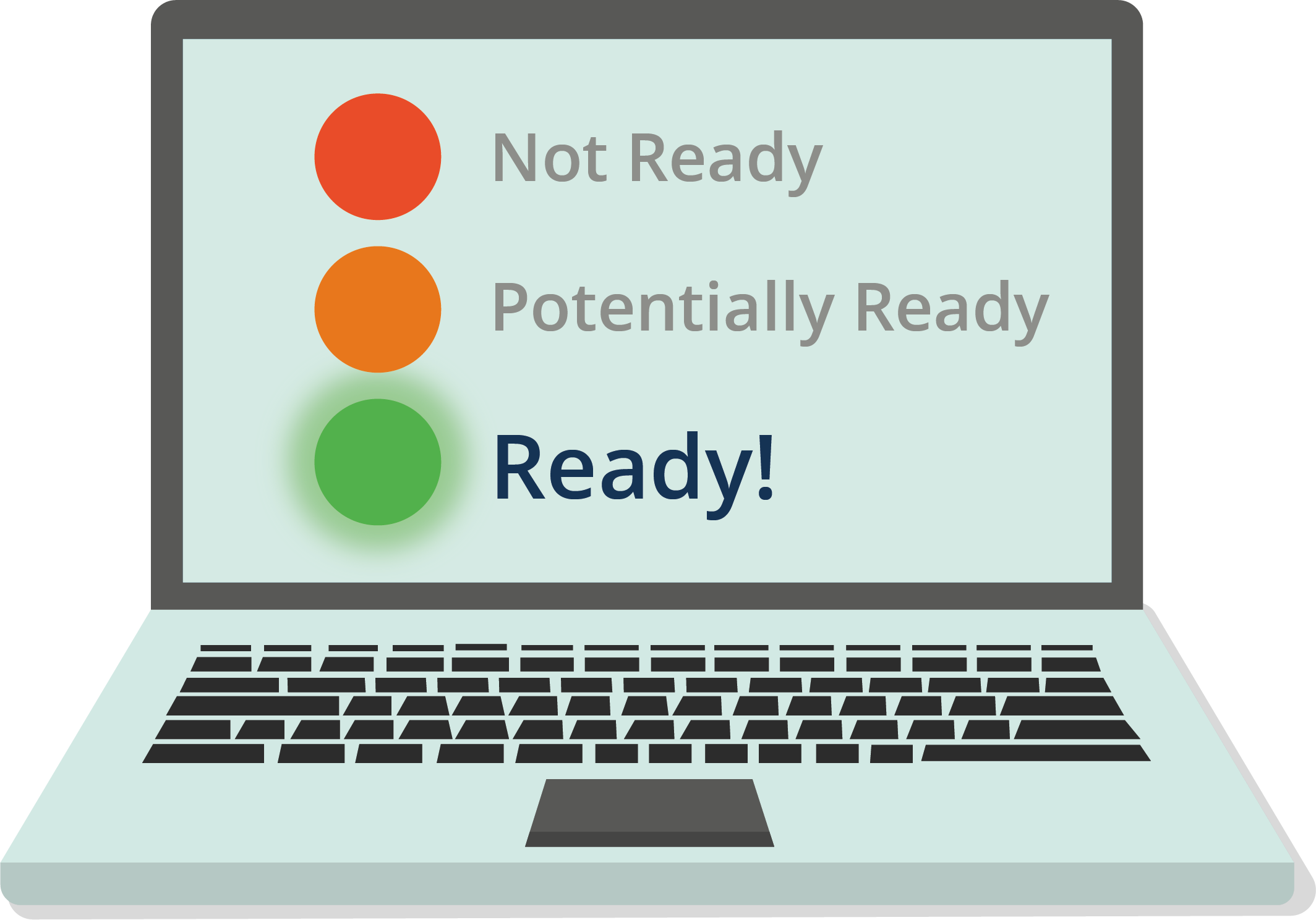 Readiness Test laptop icon