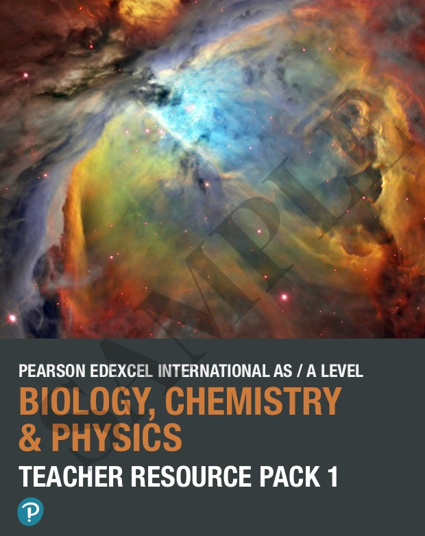 Biology Chemistry and Physics Teacher Resource Packs sample