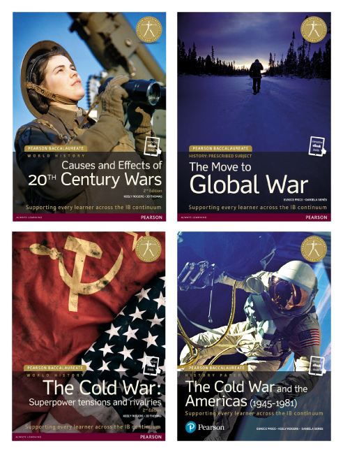 Collection of International Baccalaureate History books