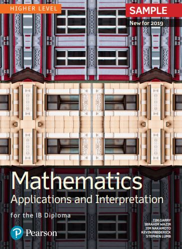 Mathematics Applications and Interpretation for the IB Diploma - Higher Level sample