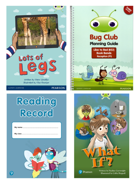 Collection of Bug Club books