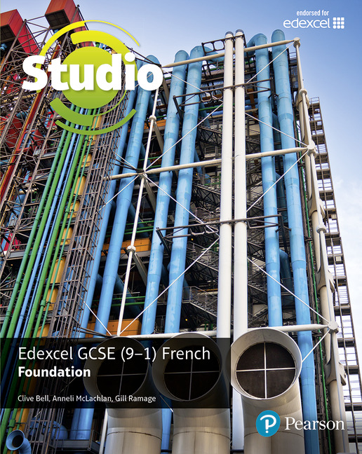 Studio for Edexcel French 9-1 book