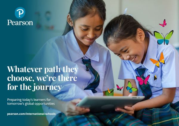 Pearson International Schools brochure cover