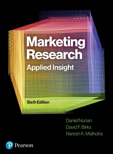 Marketing research, 5/E