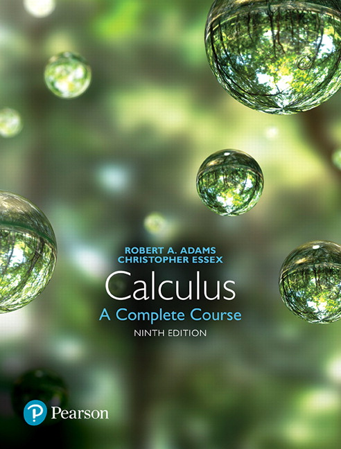 "<img alt=""Calculus: A Complete Course, 9th Edition. Robert A. Adams and Christopher Essex"">"