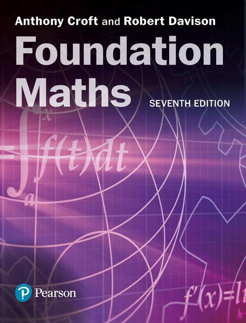 Croft  Foundation Maths  7th Edition