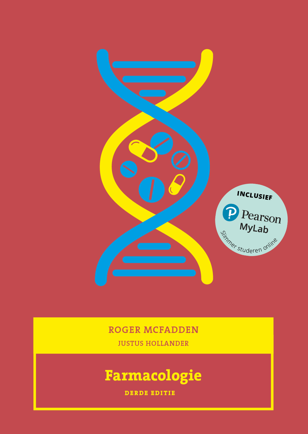 Cover Farmacologie, 3e editie met MyLab