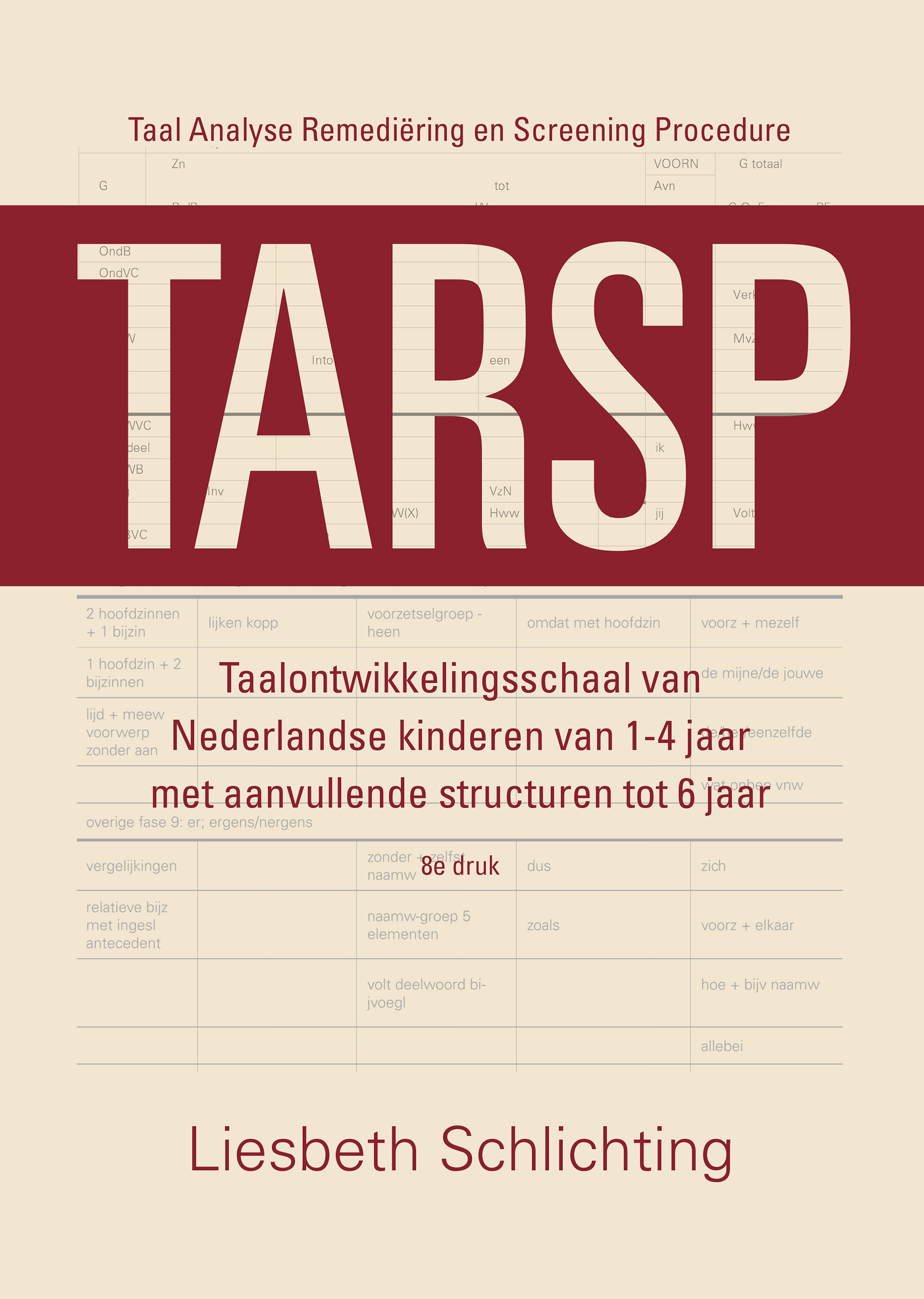 Cover TARSP