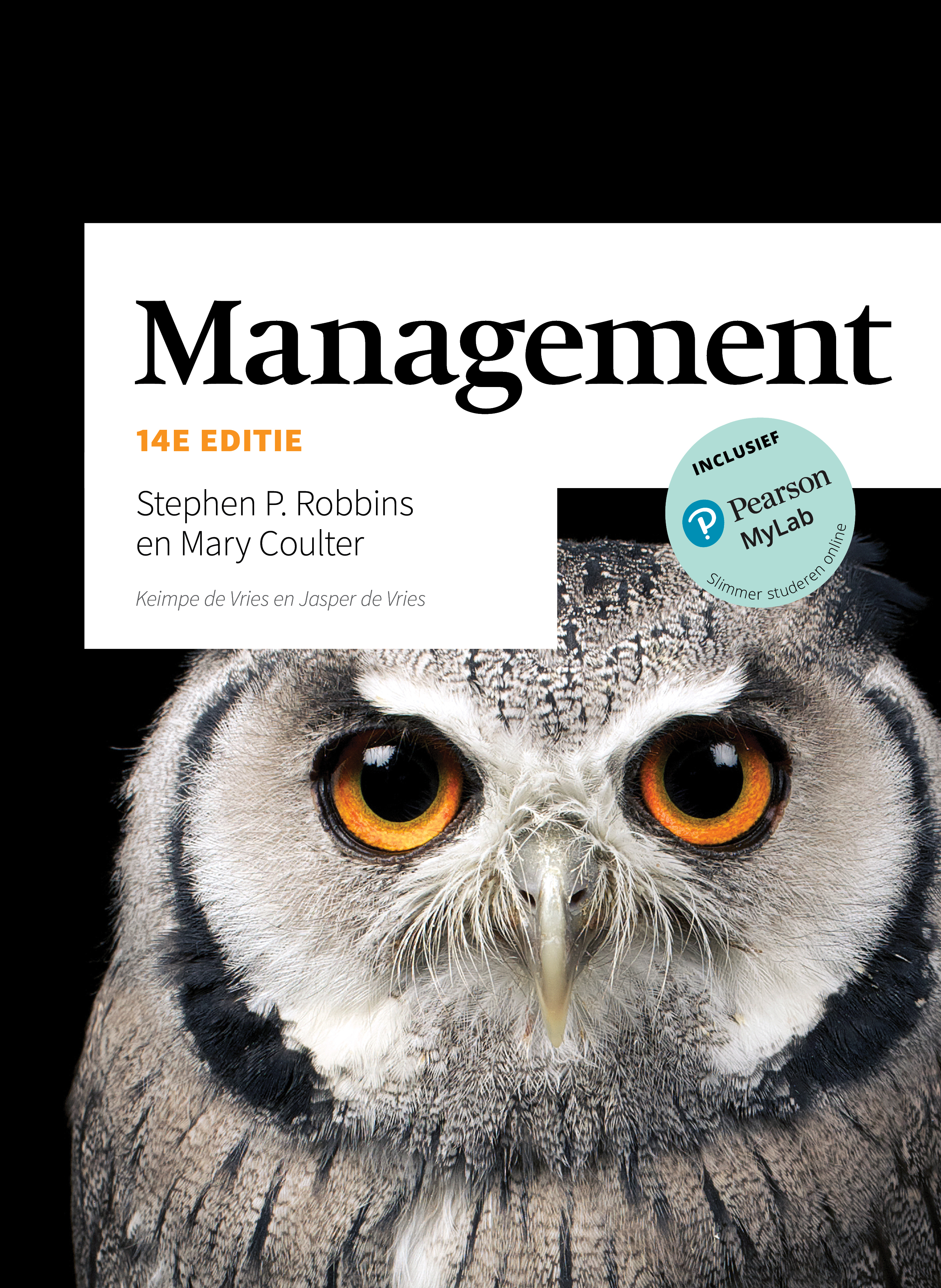 Cover Management, 14e editie met MyLab