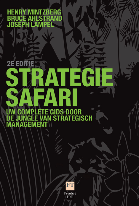 Cover Strategie safari, 2e editie