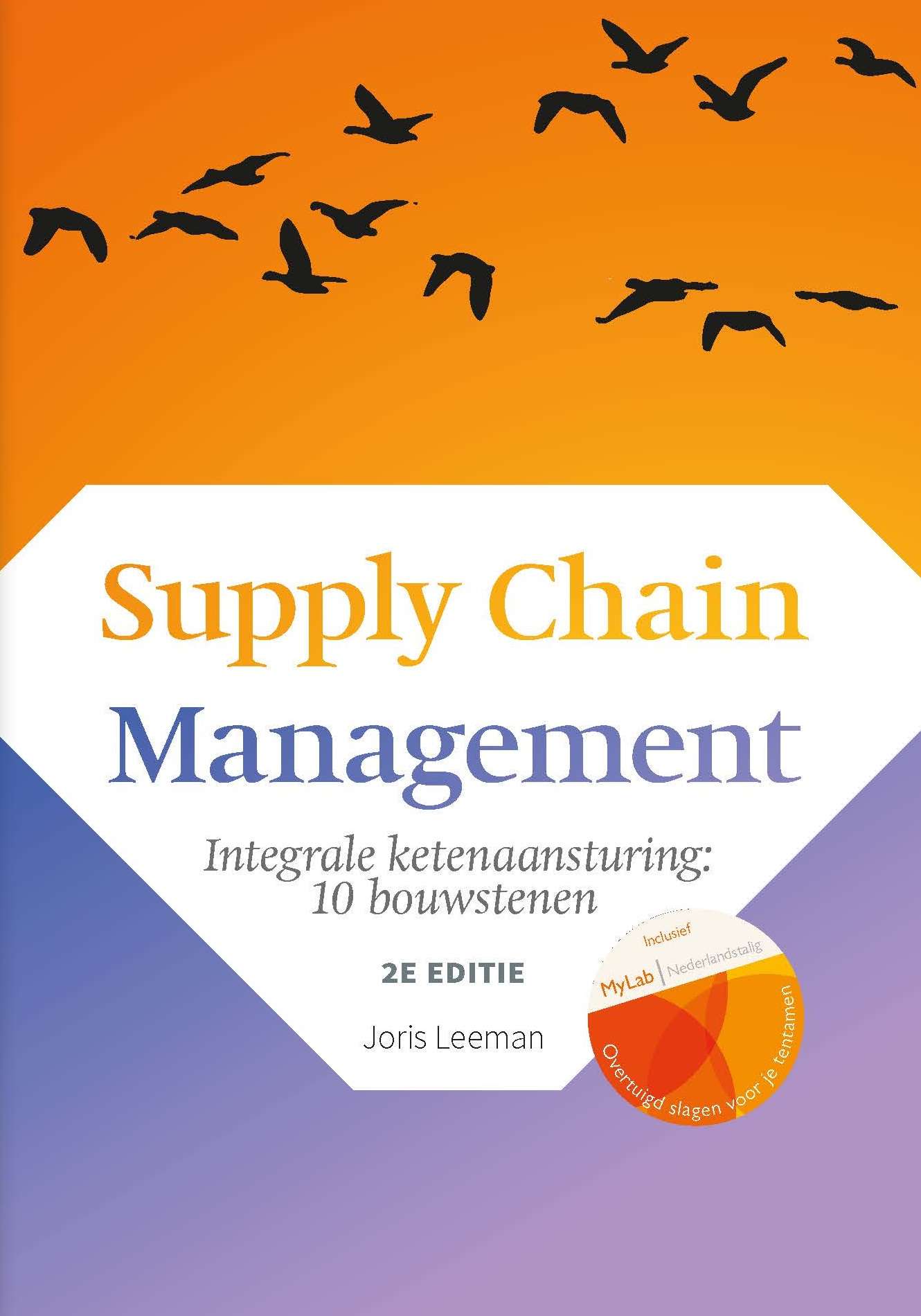 Cover Supply Chain Management, 2e editie met MyLab NL