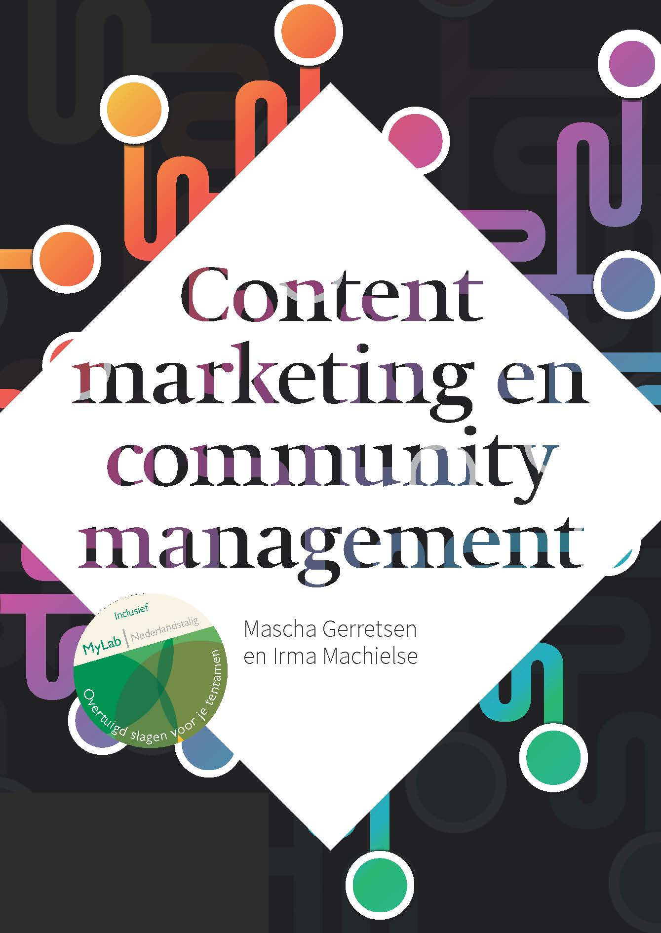 Cover Contentmarketing en community management met MyLab NL