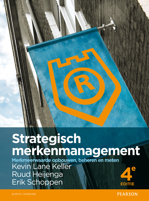 Cover Strategisch merkenmanagement, 4e editie met MyLab NL
