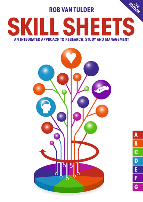 Cover Skill sheets, 3e editie