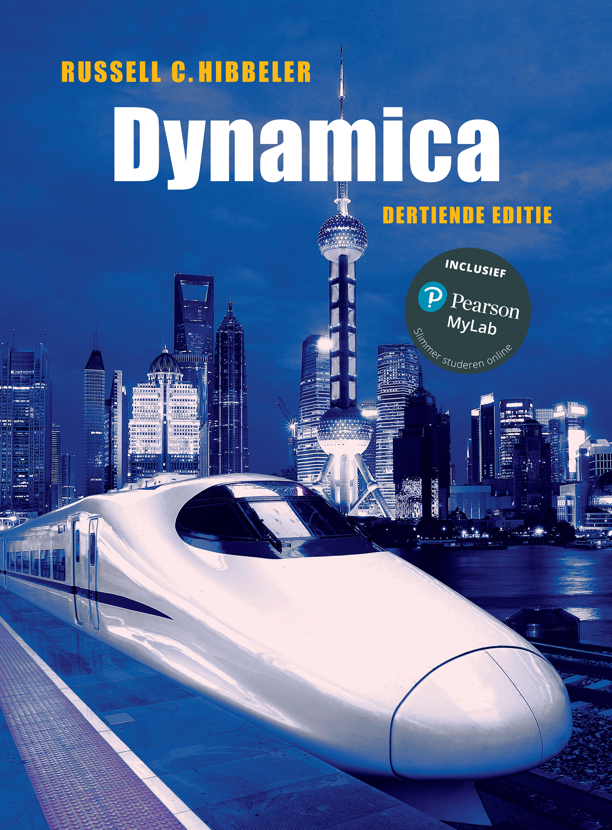 Cover Dynamica, 13e editie met MyLab