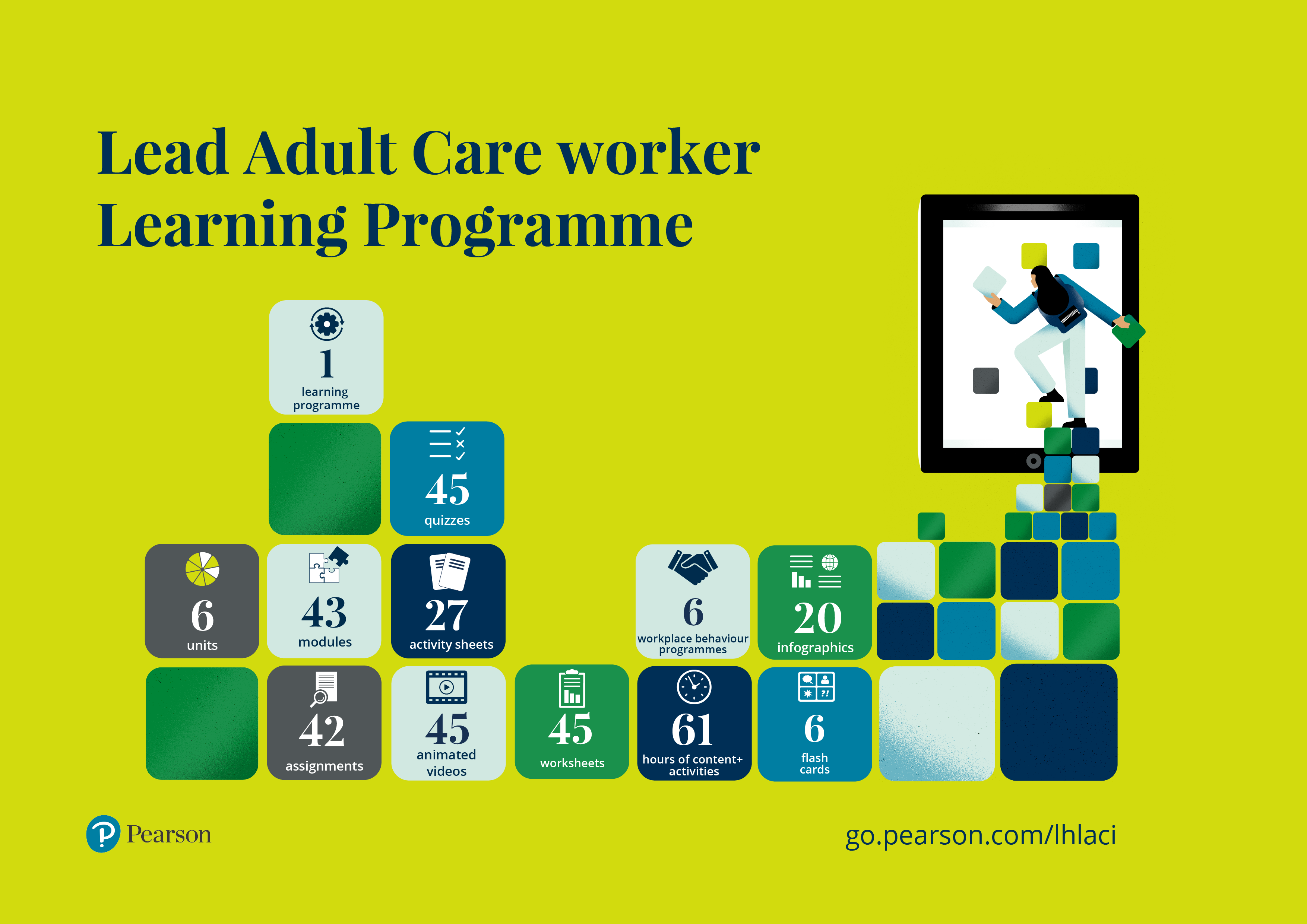 Lead Adult Care Worker infographic