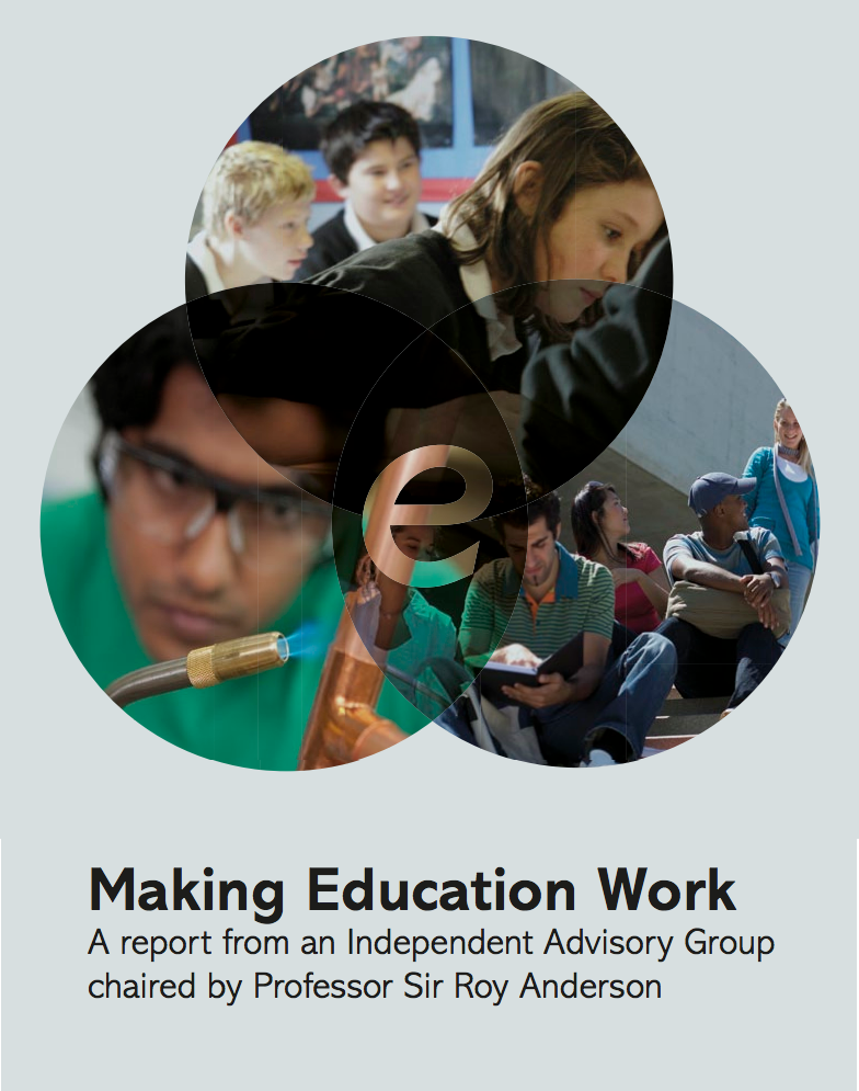 Link to the Making Education Work report