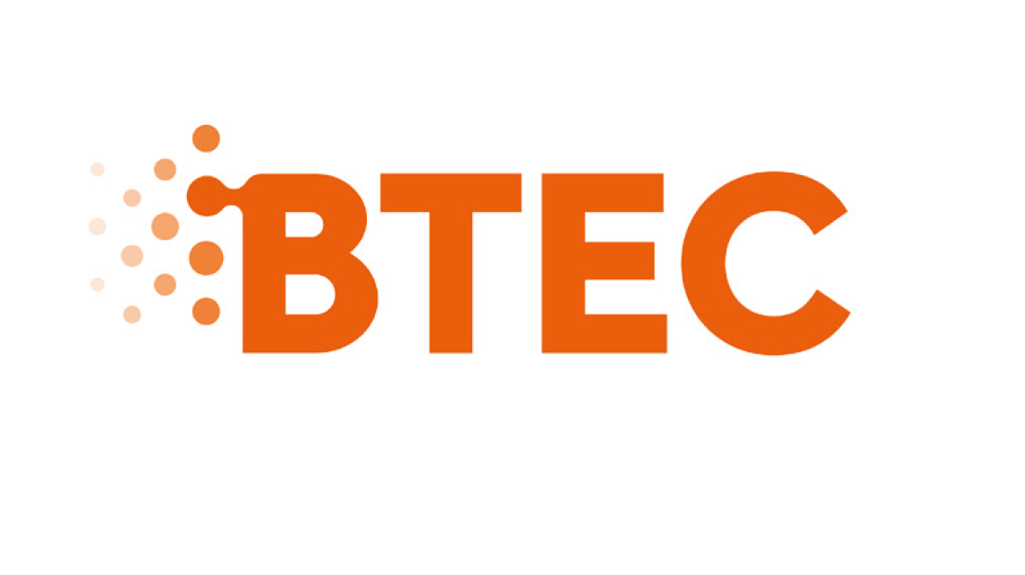 BTEC logo and link to BTEC training