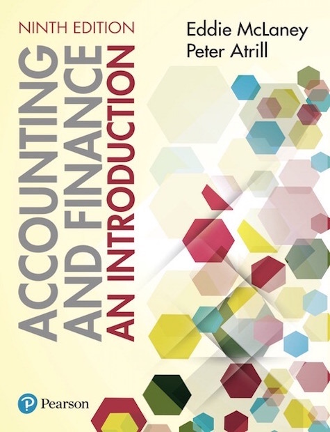 Accounting and Finance: An Introduction 9th edition, 9/E
