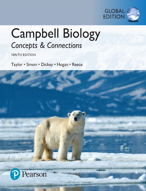 Campbell Biology: Concepts & Connections, Global Edition, 9/E